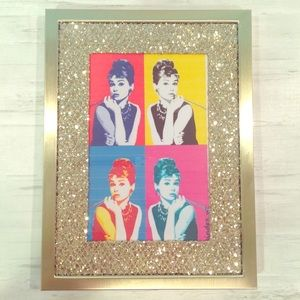 Bebe Home Gold Sparkle Matted Picture Frame 4 x 6